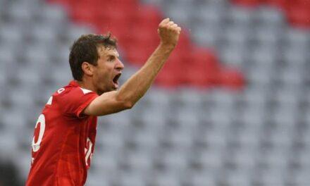 Bundesliga: el Bayern mantiene cuatro puntos por delante de la entretenida victoria