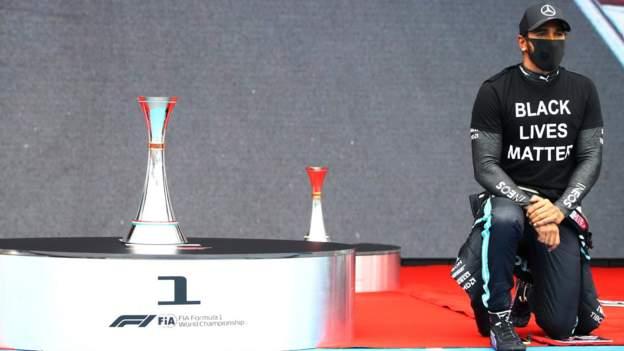 Gran Premio de Gran Bretaña: F1 organizará protestas contra el racismo después de las críticas