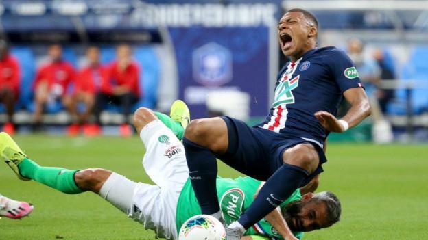 Kylian Mbappe: el delantero del Paris St-Germain se perderá los cuartos de final de la Champions League